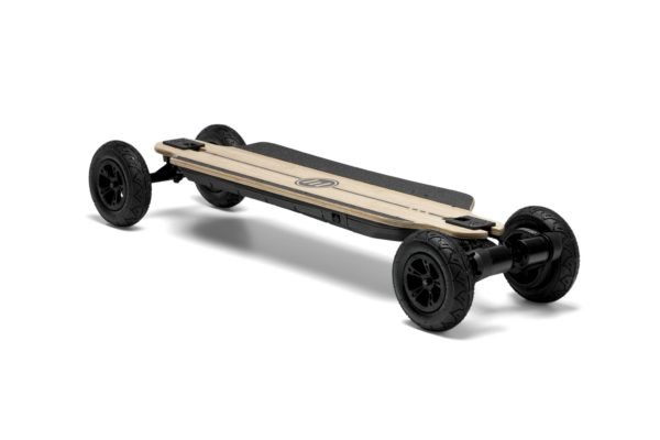 bamboo gtr evolve electric skateboard front angle