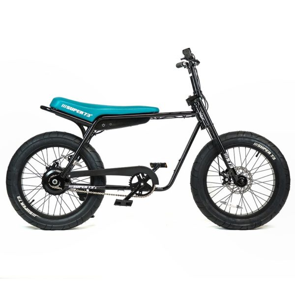 Super 73 ZG Electric Bicycle Right Side View In Black